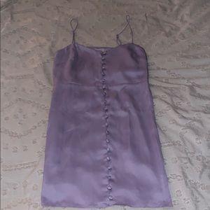 Urban Outfitters Purple satin dress